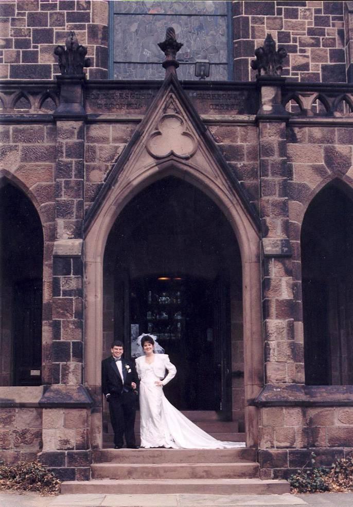 Erik & Beth Kent, Kirkpatrick Chapel, Rutgers University