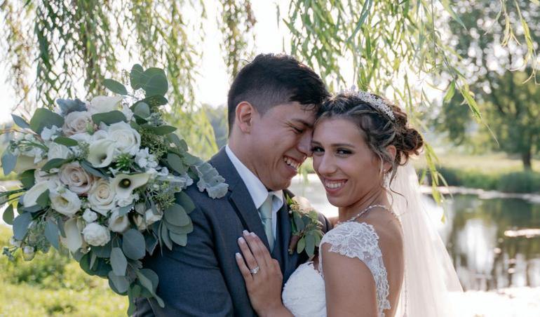 Kaitlyn Faustini and Bryan Palacios
