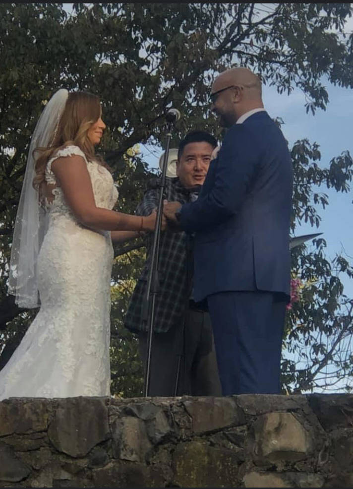 Wedding Bells for Oshin Castillo and Orlando Cruz