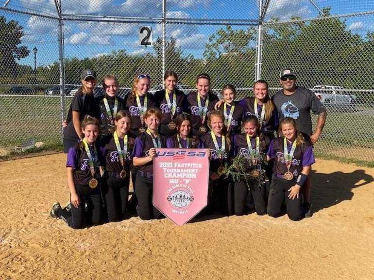 Central Jersey Fillies 16U Clinch USSSA Fastpitch Softball Tourney Championship in 8-0 Shutout