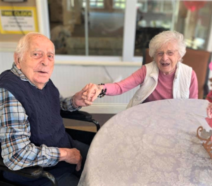 Longtime Residents of Sunnyside Manor in Wall Celebrate 75th Wedding Anniversary