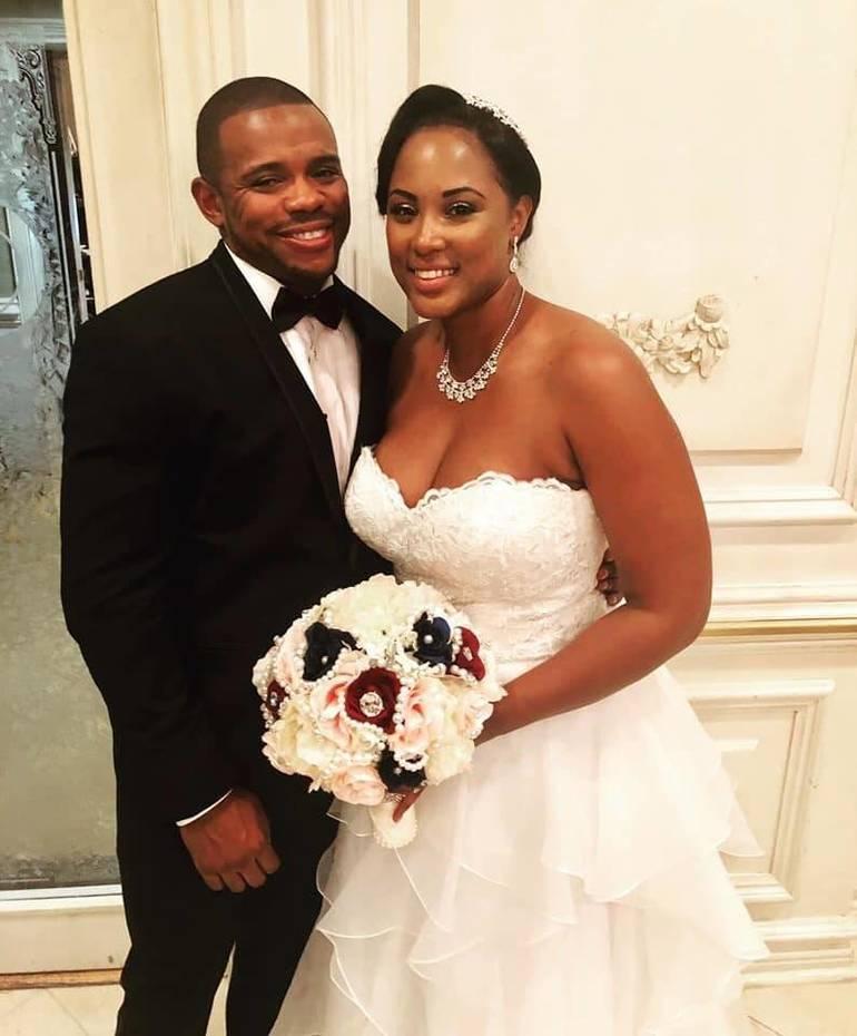 Tracia  McDonald and Naji Mitchell Celebrate Wedding