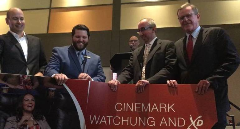 Cinemark Watchung Opens