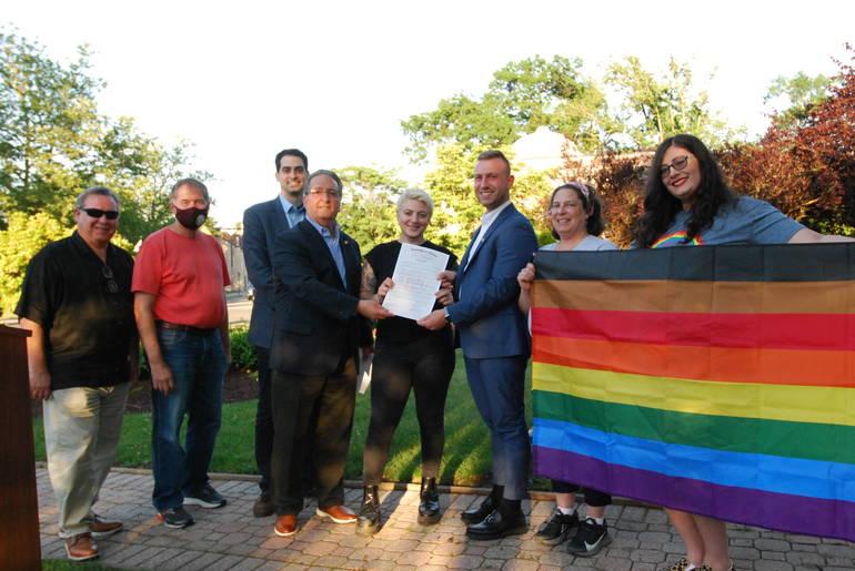 Nutley Pride, Nutley Pride Month, Nutley NJ, LGBTQ+ Pride, Pride Proclamation