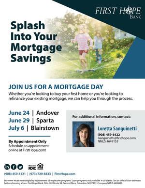 Splash Into Your Mortgage Savings