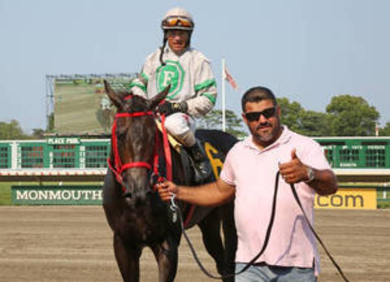 Navarro Breaks His Own Record For Training Wins At Monmouth Park