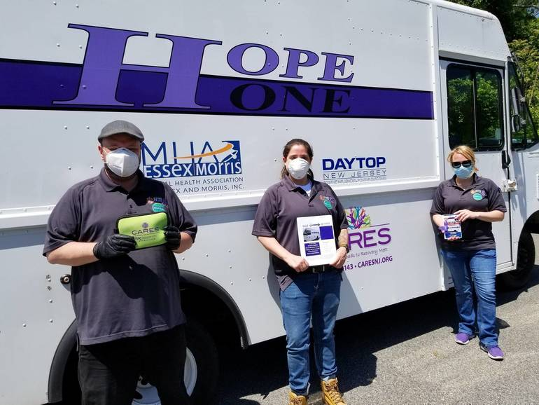 The HOPE ONE Van Will Be in Morristown,  Wednesday, March 10
