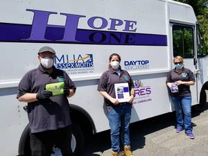 April Schedule for The HOPE ONE Van; Will Make 3 Stops in Morristown/Morris Plains
