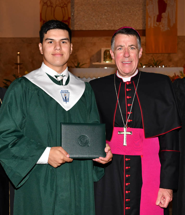 Dan Anderl was a member of the Class of 2018 at Saint Joseph High School (Metuchen).