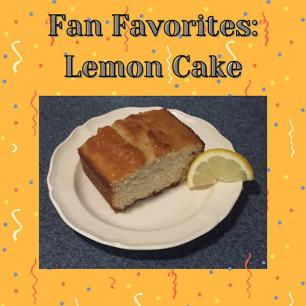 Try Macculloch Hall's Lemon Cake Recipe