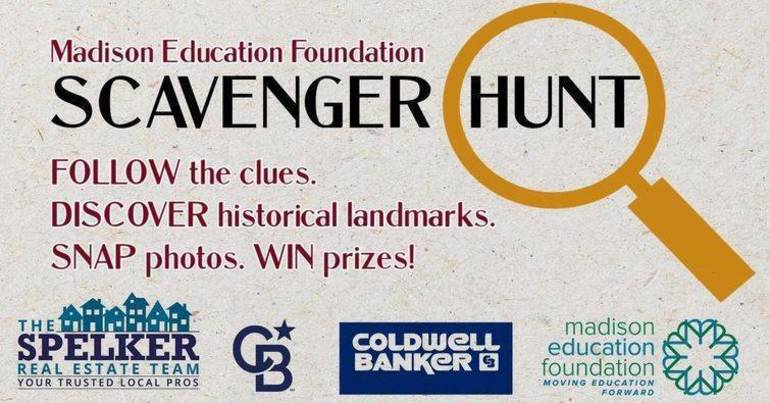 First Clue to the Madison Education Foundation Scavenger Hunt Released; Hunt Begins Jan. 23