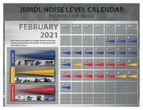 Pardon Our Noise: JBMDL Releases February Noise Level Calendar