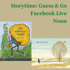 """Macculloch Hall Presents """"Storytime: Guess & Go Facebook Live"""""""