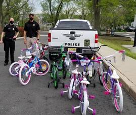 Township, City Police Hosting Bike Rodeo for Kids This Weekend