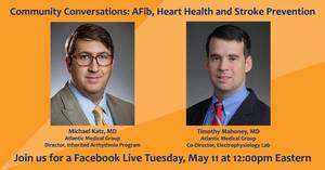 Community Conversations with Morristown Medical Center: AFib, Heart Health and Stroke Prvention