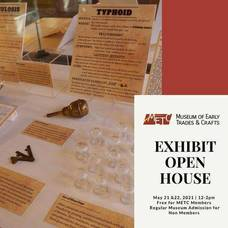 Museum of Early Trades & Crafts to Host Open House of Main Gallery Exhibit; May  21 and 22