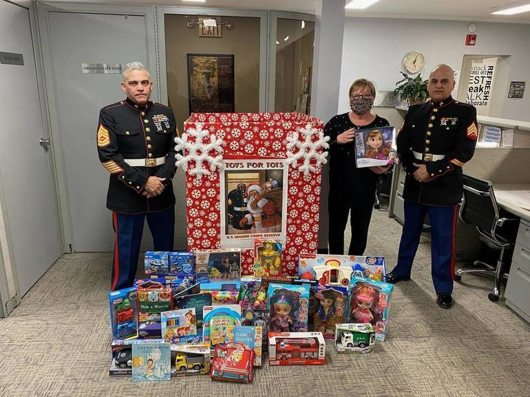 BHHS Van Der Wende Kicks Off 39th Annual Toys for Tots Event