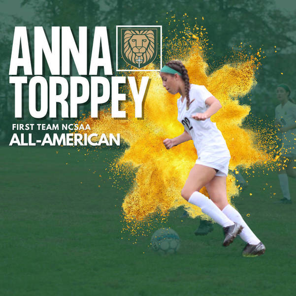 Veritas Christian Academy Junior, Anna Torppey, Named First Team All-American for Girls Soccer