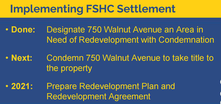 Latest on 750 Walnut: A Look at the Proposed Settlement for Property on Clark Border