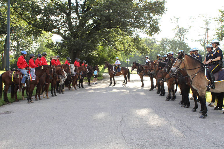 September is Suicide Prevention Month: Veterans Ride Horses Through New York City To Raise Awareness Of Suicide