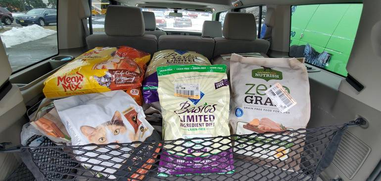 Mt. Pleasant Animal Shelter Supports Local Food Banks and Shelters Amid COVID-19 Related Pet Food Shortage