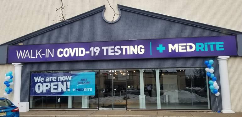 Medrite Urgent Care--Covid-19 Testing Center Opens in Paramus