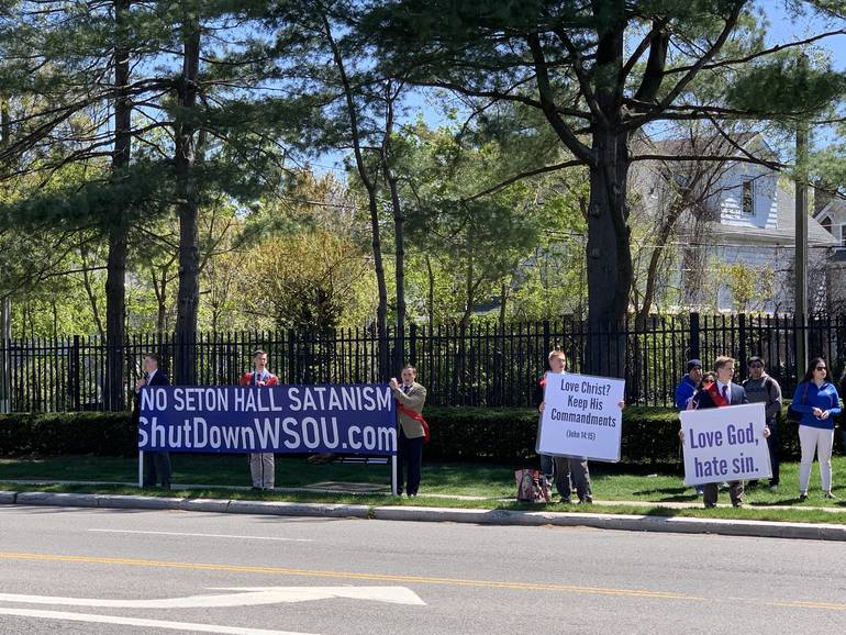'Coalition' of Catholics Protest Music Format of Seton Hall's WSOU
