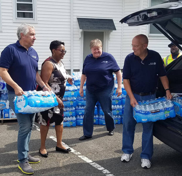 Rotary Club Donates 1320 Water Bottles During Lead Crisis