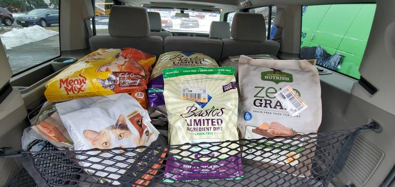 Mt. Pleasant Animal Shelter Supports Food Banks and Shelters Amid COVID-19 Related Pet Food Shortage