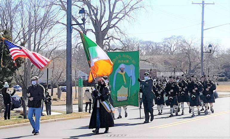 Tradition of Belmar/Lake Como St. Patrick's Day Parade Reigns with Ceremonial Procession