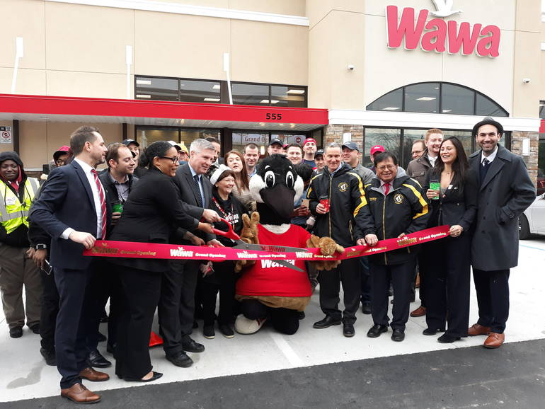 WaWa Ribbon Cutting