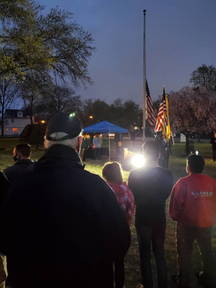 Fair Lawn Honors Officer Mary Ann Collura in Saturday Evening Tribute