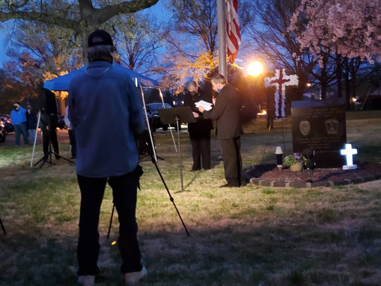 Fair Lawn Honors Police Officer Mary Ann Collura in Saturday Evening Tribute