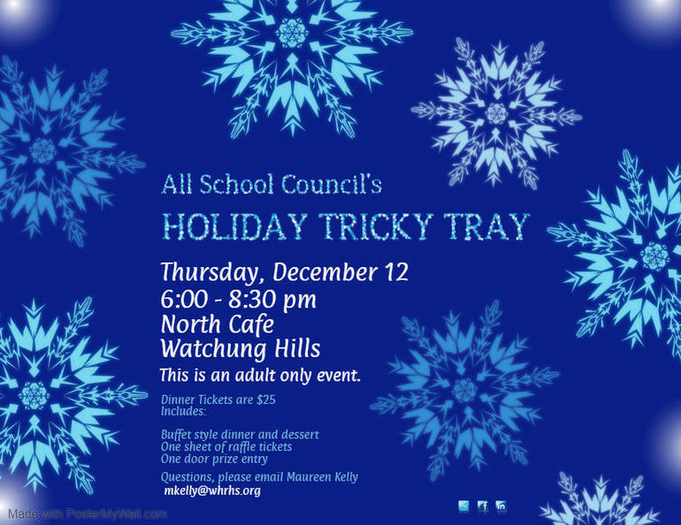 Tricky Tray Poster