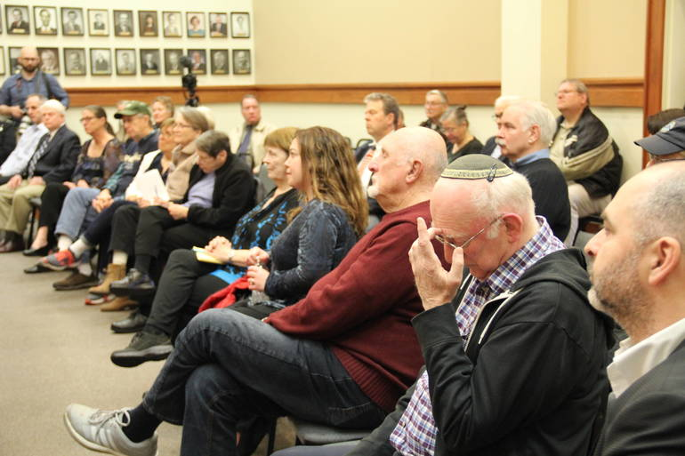 MIkie Sherrill Town Hall 4.19