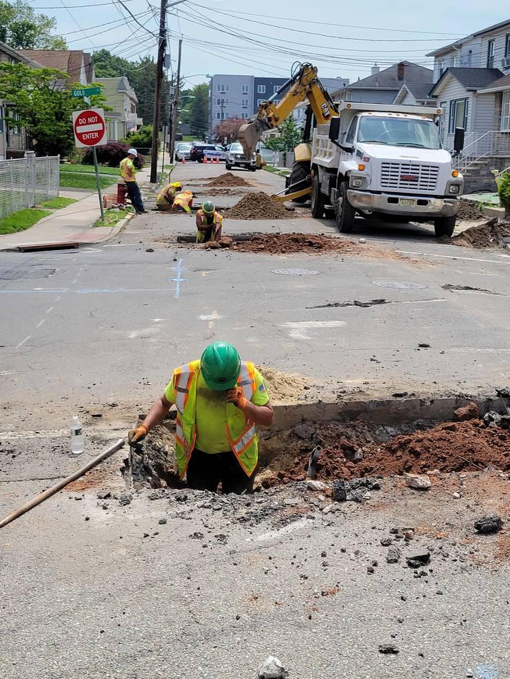 PVWC, Passaic Valley Water Commission, Lead Line Replacement