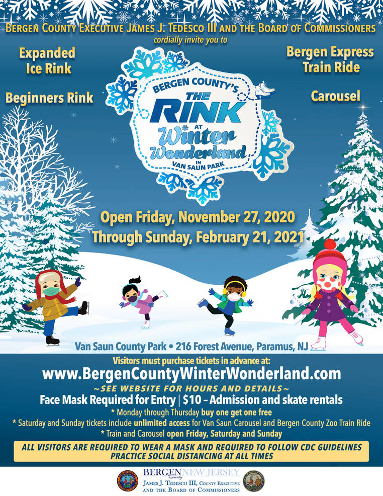 """The Rink"" at Winter Wonderland Coming to Van Saun County Park-Nov. 27"