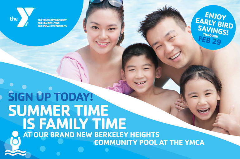 Berkeley Heights Community Pool at the YMCA Early Bird Savings