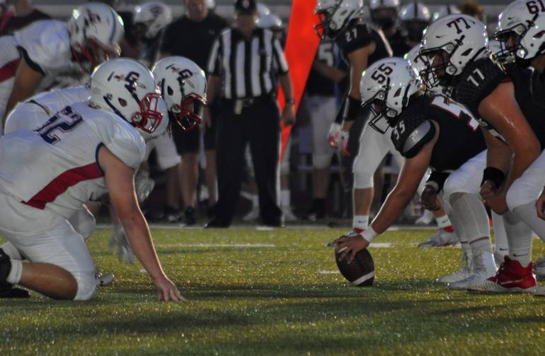 Governor Livingston falls to Bernards 42-7 in  Annual Friday Night Lights Game