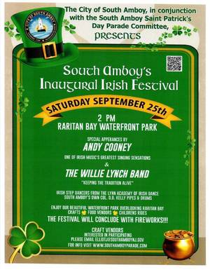 Charitable Giving is a Key to Saturday's South Amboy Irish Festival