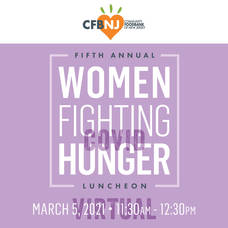 CFBNJ's Fifth Annual Women Fighting Hunger Luncheon Goes Virtual to Support Struggling Families