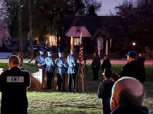 Town Honors Officer Killed in the Line of Duty More Than a Decade Ago