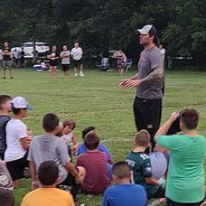 Local NFL Stars Mike Gesicki and Clark Harris Give Back to Kids in Their Hometown
