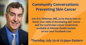 Community Conversations with Morristown Medical Center: Preventing Skin Cancer
