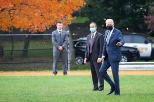 President Biden Lands in Union County, Visits Students in North Plainfield