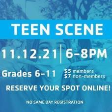 Madison Area YMCA Announces Teen Scene; Nov. 11