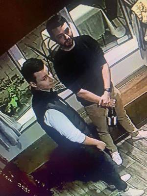 UPDATE: Two Men Who Didn't Pay for Meal at Morristown Restaurant, Agree to Pay