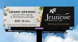 AMAZING Giveaways and Prizes at Jeunesse Medical Spa Grand Opening Event, Sept. 22.