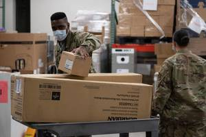 First Group of Vulnerable Afghans Arrive to Joint Base McGuire-Dix-Lakehurst