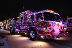 Fire Department Holiday Lights Parade Now Registering Vehicle Participants